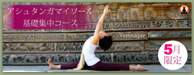 ASHTANGA MYSORE FOUNDATION COURSE starts next week!